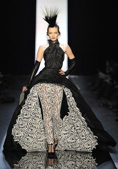 Gaultier's Spring 2011 Couture show