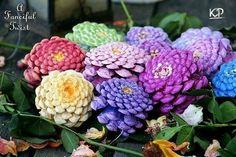 Цветы из шишек)1