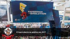 Para muitos pode ser a possibilidade de realizar um sonho de infância.  #E3 #E32017 #VaoJogar #VideoGames #Games