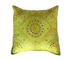 Decorative  Pillows   Bedroom decor,Cushion,room decorative,pillow covers cushion cover ...  #yellowDecorativPillows    #diamond