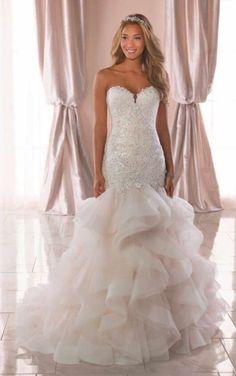 5 Astounding Sparkle Mermaid Wedding Dress Eye-Opening Ideas.Dream Wedding Dresses Mermaid Tulle Skirts