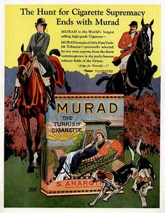 Murad Cigarettes-1910s | Flickr - Photo Sharing!