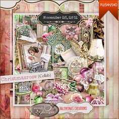 Valentina's Creations Blog » Blog Archive » Christmasrose Collection ~ Collab with WendyP Designs, + Free with Purchase http://www.valentinascreations.com/Christmasrose-Collab-with-WendyP-Designs.html