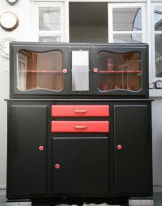 rnover meuble meuble mado vaisselier mado meubles cuisine meubles customiss petits meubles bahut 50 bahut peint rnovation buffet - Meuble Mado Renove
