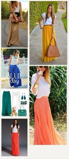 535d24b289 15 imágenes encantadoras Faldas   Skirts   Faldas