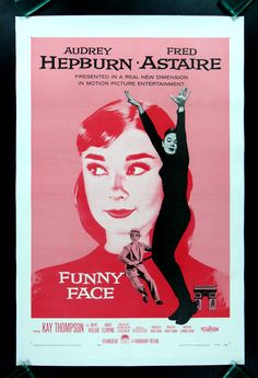 "Funny Face! A favorite movie. . Beautifully filmed!  Kay Thompson starred in it and was also the author of the beloved ""Eloise"" childrens books"
