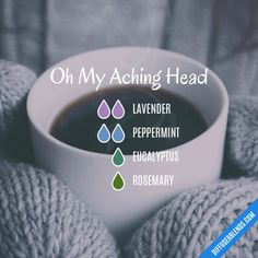 Oh My Aching Head - Essential Oil Diffuser Blend