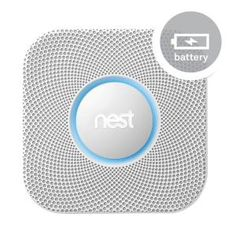 Nest, Protect: Smoke + Carbon Monoxide Alarm (Battery), S1001BW at The Home Depot - Tablet
