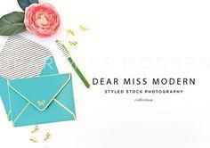Kate Desktop 2 by DEAR MISS MODERN on @creativemarket