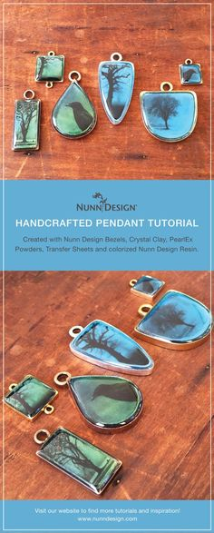 I have to admit I got a little carried away with this tutorial. My intentions were good (of course!). What I really wanted to communicate is how you can create a pendant using a certain step-by-step technique, yet have the pendants look so incredibly different from pendant to pendant.Sometimes creating ...