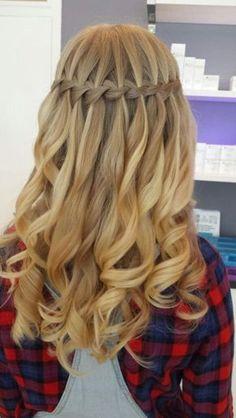 40 Cute Hairstyles For Teen Girls Homecoming Hairstyles, Wedding Hairstyles, Pretty Hairstyles, Braided Hairstyles, Dance Hairstyles, Cool Braids, Bridesmaid Hair, Prom Hair, Hair Looks