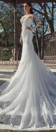 Ricca Sposa Wedding Dress Collection 2018 - Hola Barcelona #weddingdress #bridal #bride #weddings #bridalgown #weddinggown