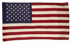 Valley Forge  Cotton United States Flag, measures 2-1/2-Foot x 4-Foot with sleeve by Valley Forge. $21.88. Flag has sewn stripes and embroidered stars; Flag is 100% Made in USA; Cotton is a sustainable, renewable, natural resource; Measures 2.5 foot by 4 foot; Valley Forge Flag's traditional flags--made from 100% cotton, naturally Patriotic. 2.5'x4' Cotton United States Flag manufactured by the leader in flags, Valley Forge Flag.
