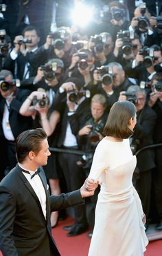 Cannes.  Jeremy Renner and Marion Cotillard.  Great pic!!