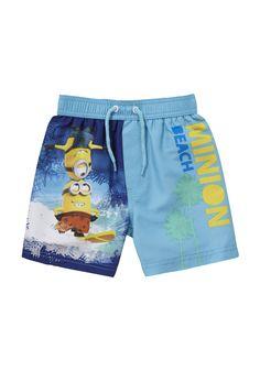 Clothing at Tesco | Universal Studios Minions Surf Swim Shorts > swimwear > Swimwear > Kids