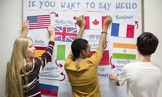 The True Failure of Foreign Language Instruction - Whether it's due to native language loss or unsupported high school curricula, the lack of bilingualism in the US is notable. Why can't more Americans speak another language? How should that change? Reading Stations, Writing Station, Learn A New Language, Foreign Language, Language Classes, French Language, Language Arts, Second Language, German Language