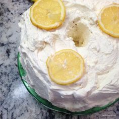 lemon angel food cake | NoBiggie.net