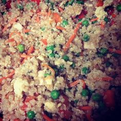 Day 162, 163, and 164: Quinoa Chicken Fried Rice | The Sweaty Life