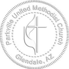 Personal Methodist Seal Embosser- Custom Stamps