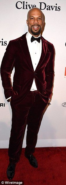 How to wear a suit 101: The men also showed off they style skills with (L-R) Sam Smith, Co...