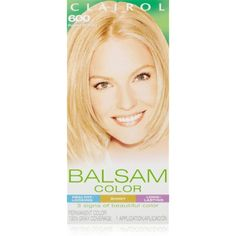 Clairol Balsam Hair Color 600 Palest Blonde 1 Kit (Pack of 3) ** Want to know more, click on the image. (This is an affiliate link) #HairCare