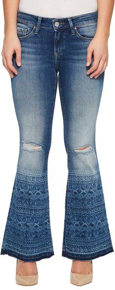 ab54350918 Mavi Jeans Petite Peace Jeans in Indigo Tribe Vintage
