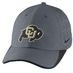 111f5ba623752b CU Buffalo Logo Nike Training Hat - Charcoal $26.00 Buffalo Logo, Charcoal,  Baseball Hats. CU Book Store