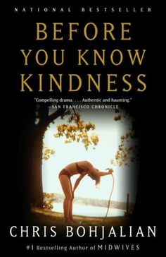 Before You Know Kindness it's a must read on my list