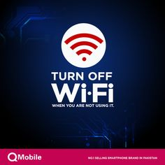 Leaving your Wi-Fi signal on will lower your data charges and will also drain your battery. Use Wi-Fi when you performing larger online tasks. ‪#‎AndroidTips‬