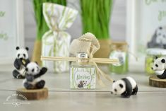 Welcome to pandaland!!! | whenmina-creates μπομπονιέρα αρωματικό χώρου reed diffuser
