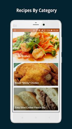Cook book free recipes screenshot thumbnail android ui prepare your favorite foods with cook book free recipes app forumfinder Images