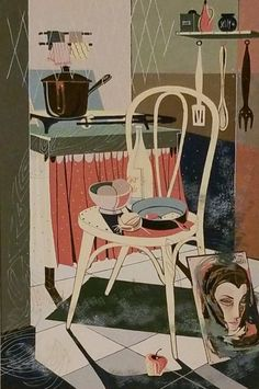 Arthur Brown, Illustration, Fine Art Painting, Lithograph, Woodcut, Color, Vintage Prints, Prints, Original Artwork