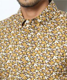 B'2nd re'qua mens(ビーセカンドレクア メンズ)のB'2nd re'qua (ビーセカンドレクア) 花柄S/S BDシャツ  (241)(シャツ・ブラウス) 詳細画像