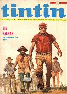 Le Journal de Tintin - Edition Belge - N°  1302 - 1971-35 - Mardi 31 Août 1971 - Couverture : Hermann Huppen