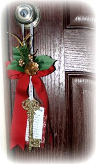 Santa's Magic Key....I've got the key but I love the added decoration with it