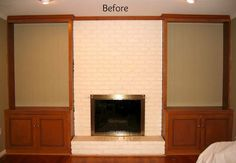Driven By Décor: Transforming a Fireplace and Built-in Bookcases
