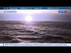 "The submarine ""Yury Dolgoruky"" Class ""Borey"" Target Practice intercontin..."