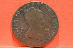 8 MARAVEDIS 1848 JUBIA ISABEL II ESPAÑA