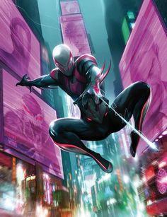 Resultado de imagen para spiderman 2099 vs superior spider man