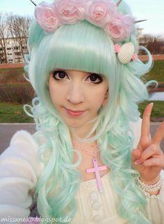 Kawaii Magical Anime GIrl Foam Dress Up Stickers Cosplay Cute Pastel Fairy Kei