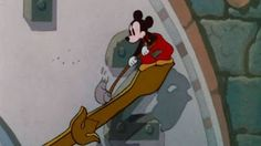 Disney's CLOCK CLEANERS (1937). Suggested viewing by Worker Studio's Ministry of Culture: http://www.worker-studio.com/ministryofculture.html