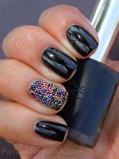 the caviar mani