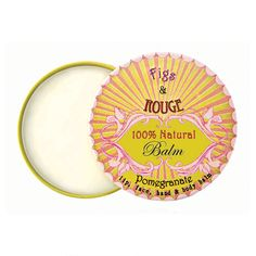 Figs & Rouge 100% Natural Pomegranate Balm 17ml