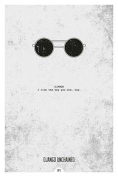 """Cartazes de filmes minimalistas, quando bem feitos, são sempre uma boa maneira de """"resumir"""" um filme. // Movie posters minimalists, when done well, are always a good way to """"summarize"""" a movie."""