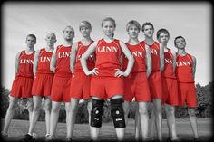 Cross country team portrait