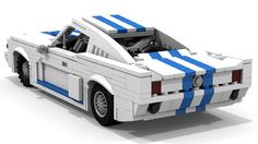 Lego Shelby Mustang.