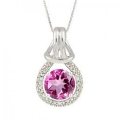 This brilliant pink topaz jewelry will be a hit with any gift recipient! You'll find pink topaz necklaces, bracelets, earrings, rings and even...