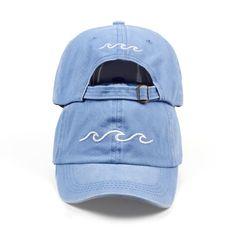 001fc986d6a Sea wave baseball cap high quality unisex fashion dad hats new sports hats