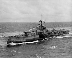 HMS Terpsichore (R33) was a T-class destroyer of the British Royal Navy that saw service during World War II.