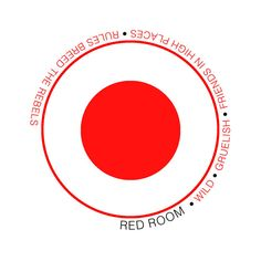 This is Red Room's Demo cover, there is a heavy emphasis on the red with a minimalist style.